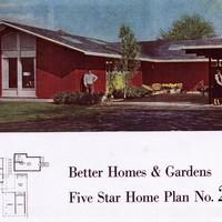 Better Homes & Gardens Five Star Home Plan No. 2709