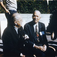 William W. Wurster and Mies Vander Rohe<br />